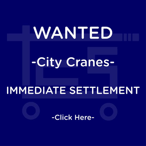 Wanted City Cranes