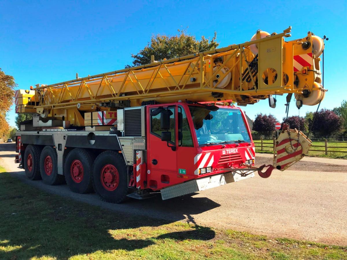 Taurus Crane Sales  U00bb Terex Ac80